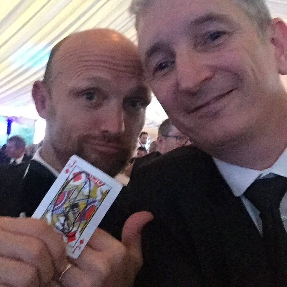 Staffordshire Corporate  Magician Owen Strickland