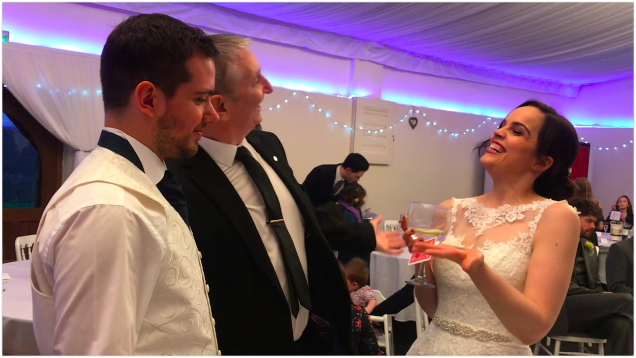 Skylark Farm Wedding Magician Owen Strickland