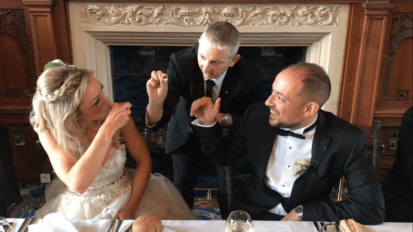 The Mount Wedding Venue magic with Owen Strickland Magic