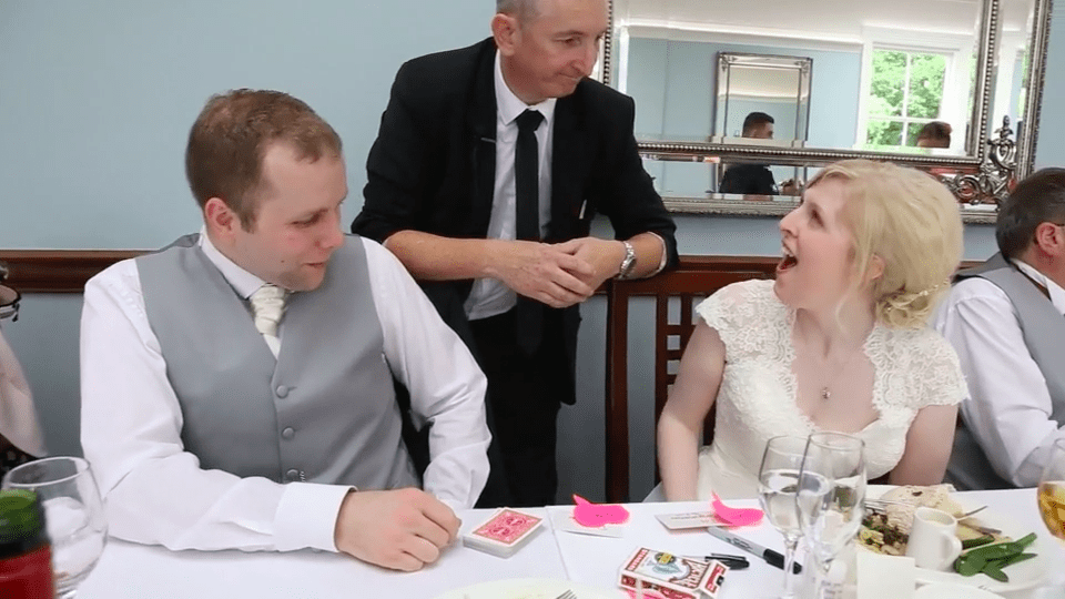 Staffordshire Wedding Magician
