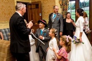 Birmingham Magician at Dumbleton hall