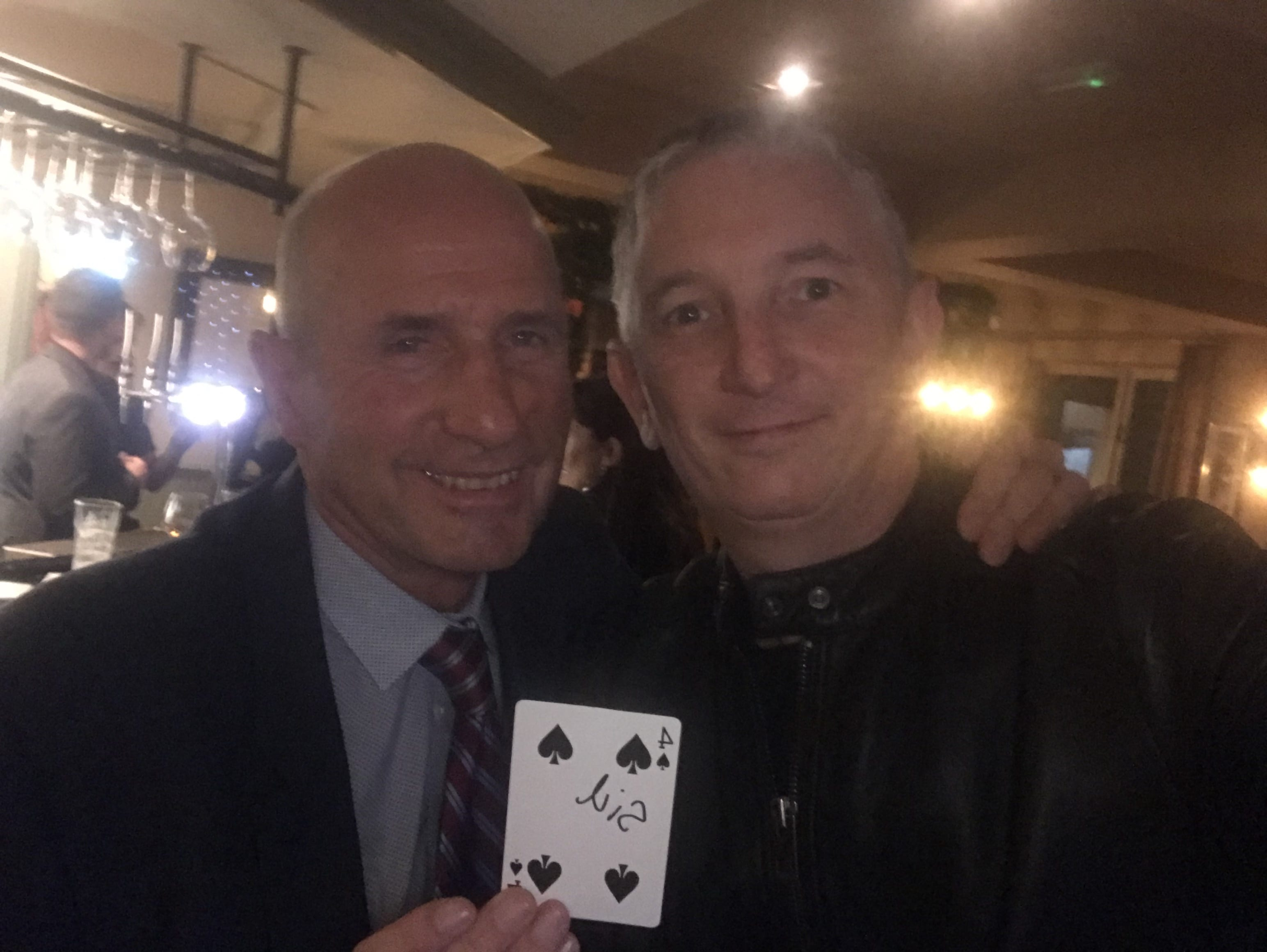 Corporate Magician in Birmingham Owen Strickland