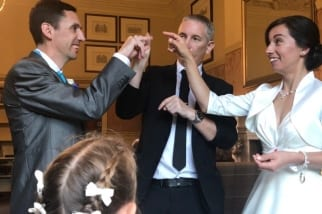 Warwickshire Wedding magician