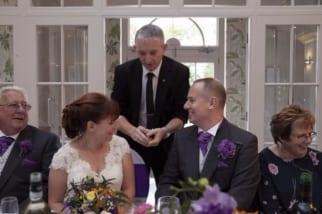 Warwickshire Wedding Magician www.owenstrickland.co.uk