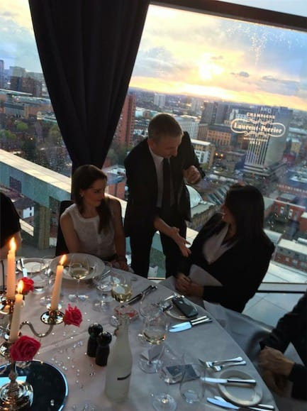 Birmingham Magician at  Marco Pierre Whites