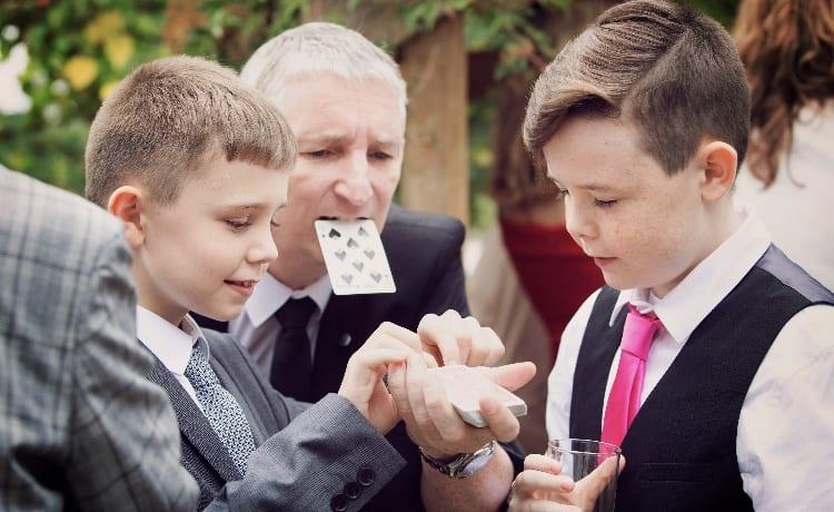 Warwick House Magician Owen Strickland
