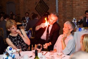 Shustoke Barn Farm Magic - Warwickshire Wedding Magician Owen Strickland
