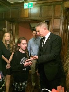 Birmingham Magician Owen Strickland at New Hall Hotel