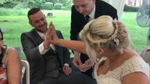 Bordesley Park Wedding Magician Owen Strickland