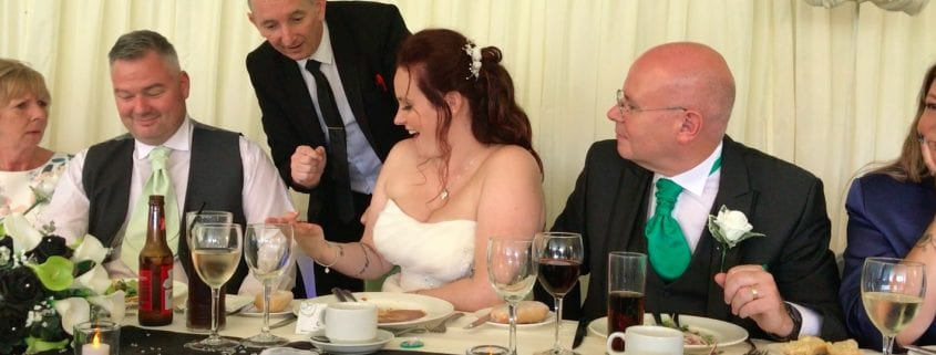 Staffordshire Wedding Magician Owen Strickland The Schoolhouse Weeford