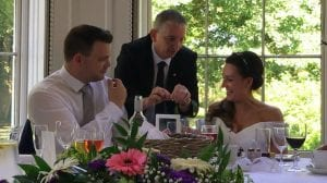 Staffordshire Wedding Magician Owen Strickland Somerford Hall