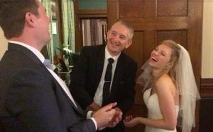 Swinfen Hall Wedding Magician Owen Strickland