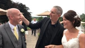 Staffordshire Wedding Magician Owen Strickland Weston Hall Stafford