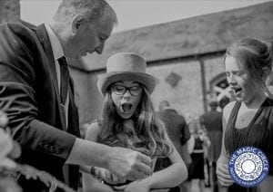Shustoke Farm Barns Magic with Warwickshire Magician Owen Strickland