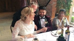 Warwickshire Wedding Magician Owen Strickland Shustoke Barns