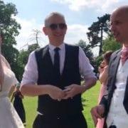 Warwickshire Magician Owen Strickland Ashton Lodge Wedding