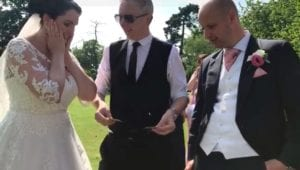 Warwickshire Magician Owen Strickland Ashton Lodge Wedding