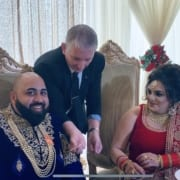 Indian Wedding Magician Owen Strickland