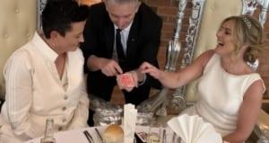 Same Sex Wedding Magician at Aston Marina