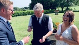 Staffordshire Magician at Dovecliffe Hall