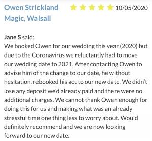 Birmingham Magician Owen Strickland